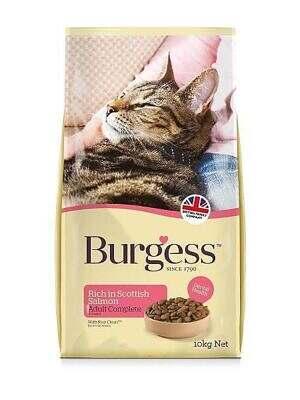 Burgess Adult Cat Salmon