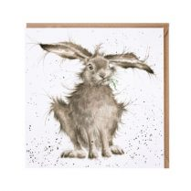 wrendale hare brained card