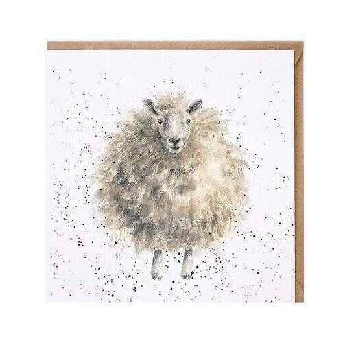 wrendale woolly jumper card