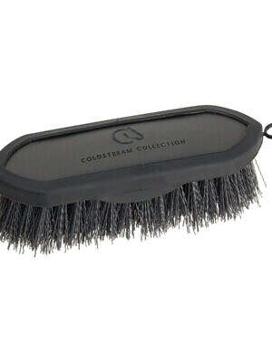 Coldstream-Faux-Leather-Dandy-Brush charcoal black