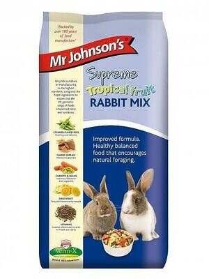 Mr Johnsons Rabbit Tropical Fruit Mix