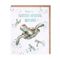 wrendale turtley amazing card