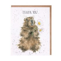 wrendale thank you card