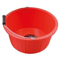 feed bucket red