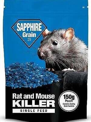 Sapphire Grain Pouch
