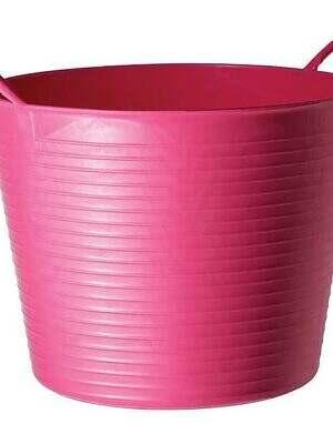 Tubtrug-Flexible-pink 38litre