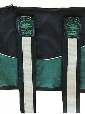 Animate Green Black Unpadded Harness Coat
