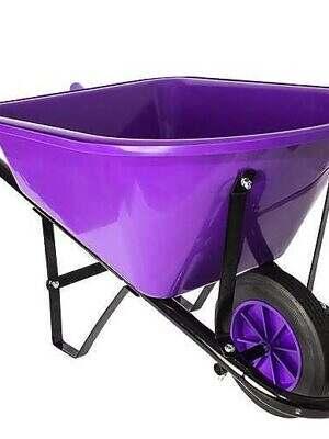 childrens wheelbarrow-purple