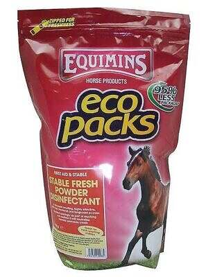 equimins stable Fresh powder disinfectant eco pack