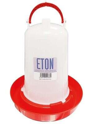 Eton TS Poultry Drinker Red