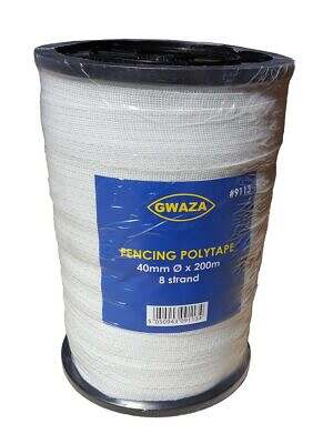 Fencing Polytape 40mm x 200m