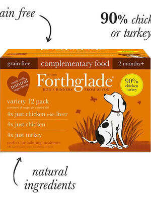 forthglade just poultry variety pack