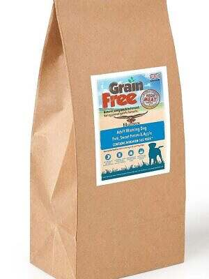 grain free working dog pork
