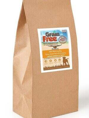 grain free turkey working dog