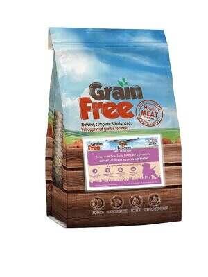 grain free small breed puppy turkey