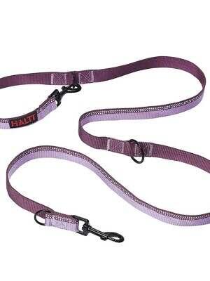 Halti Double Ended Lead Purple