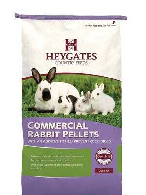 Heygates Commercial Rabbit Pellets with Coccidiostat
