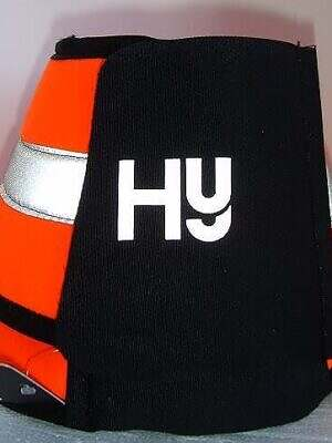 hy reflective over reach boots orang