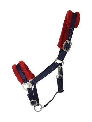 Hy-Two-Tone-Faux-Fur-Head-Collar-navy red