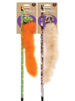 jolly moggy feather boa