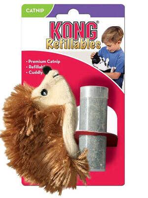 kong-catnip-hedgehog