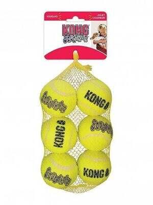 kong-squeakair-balls-pack-of-6-medium