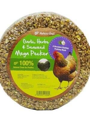 Natures Grub Garlic & Herb Mega Pecker