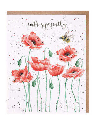 poppie and the bee card