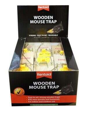 Rentokil Wooden Mouse Trap
