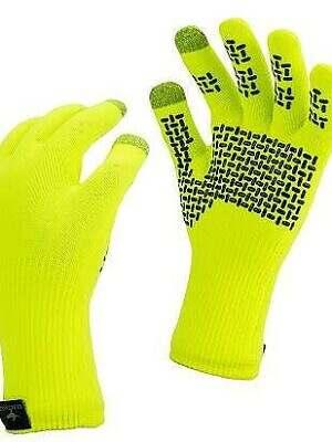 sealskinz ultragrip gloves hiviz