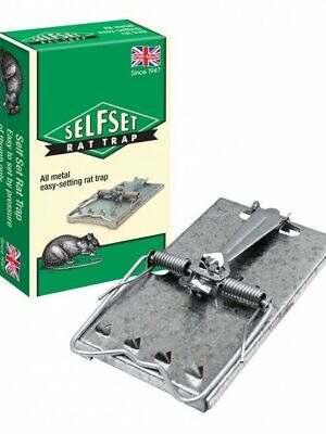 self set rat trap
