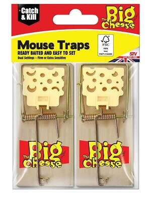 Selfset Mouse Trap Wooden