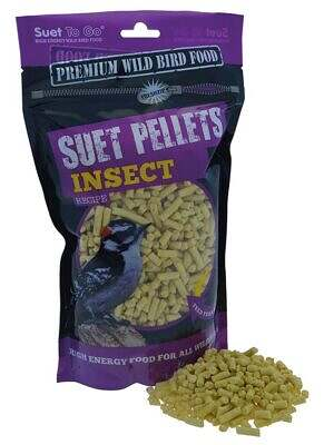 Suet To Go pellets - Insect 550g Pouch