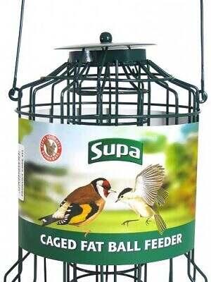 supa caged fatball feeder