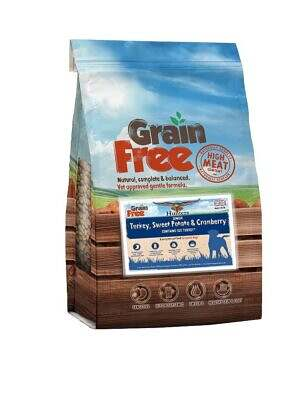 grain free senior turkey